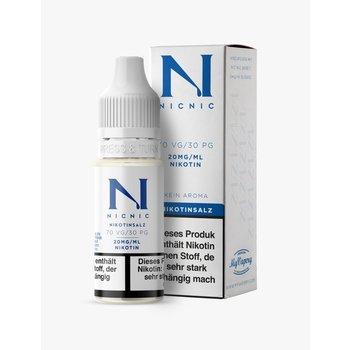 NicNic Nikotinsalz-Shot 30/70 mit 20 mg 10 ml