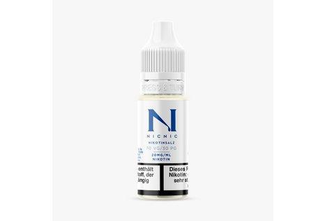 NicNic Nikotinsalz-Shot 30/70 mit 20 mg 10 ml Base von NicNic
