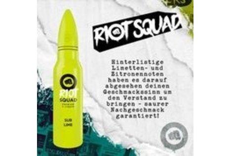 Riot Squad Sub Lime Aroma von Riot Squad - Aroma zum Liquid Mischen mit einer Base