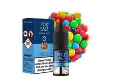 Pod Salt Fusion Bubble Blue Liquid von Pod Salt - Fertig Liquid für die elektrische Zigarette