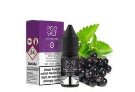 Pod Salt Blackcurrant Menthol Liquid von Pod Salt - Fertig Liquid für die elektrische Zigarette