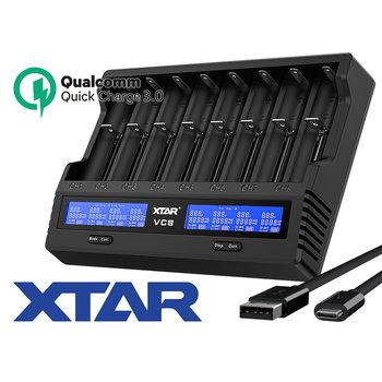 XTAR VC8 Li-Ion Ladegerät