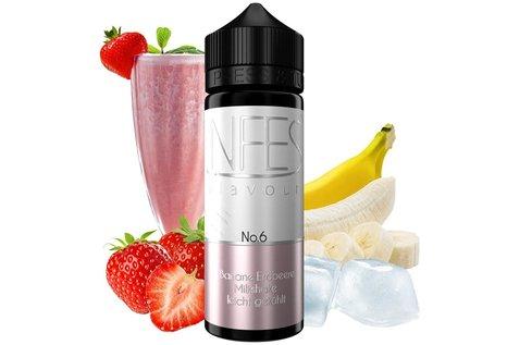 NFES No. 6 Banane Erdbeere Milkshake Aroma von NFES - Aroma zum Liquid Mischen mit einer Base