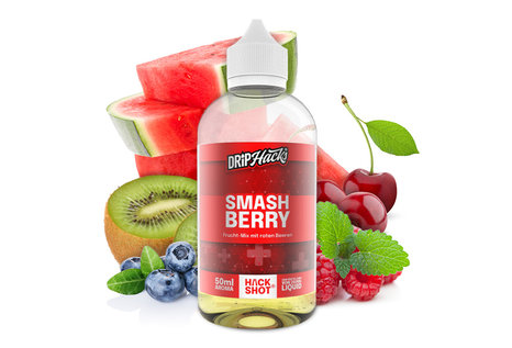 Drip Hacks Smashberry Aroma von Drip Hacks - Aroma zum Liquid Mischen mit einer Base