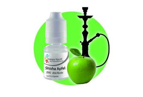 happy liquid Shisha Apfel (Shisha - Fertig Liquid für die elektrische Zigarette