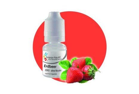 happy liquid Erdbeer - Fertig Liquid für die elektrische Zigarette