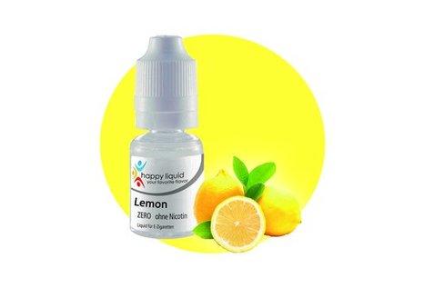 happy liquid Lemon - Fertig Liquid für die elektrische Zigarette