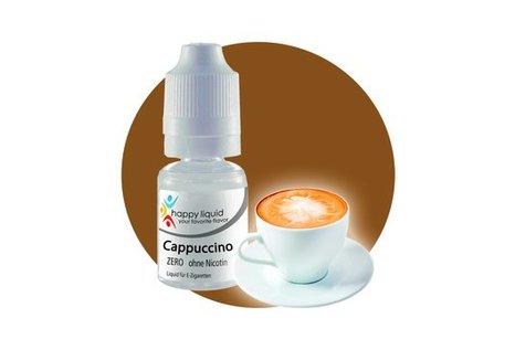 happy liquid Cappuccino - Fertig Liquid für die elektrische Zigarette
