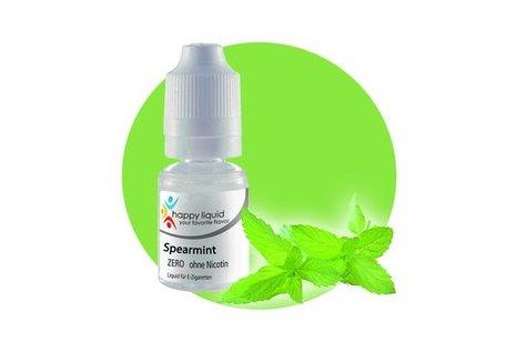happy liquid Spearmint - Fertig Liquid für die elektrische Zigarette