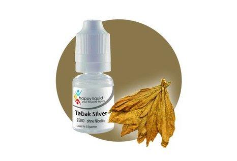 happy liquid Tabak Silver - Fertig Liquid für die elektrische Zigarette