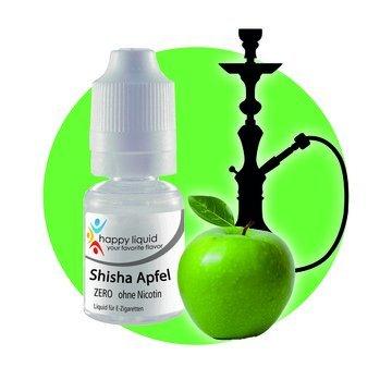 Jeden Tag ein anderes Aroma - Shisha-Apfel von Happy Liquid