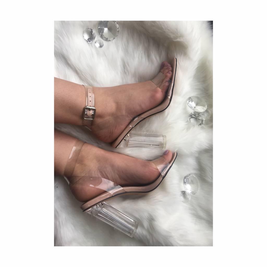 Must Have transparent heels