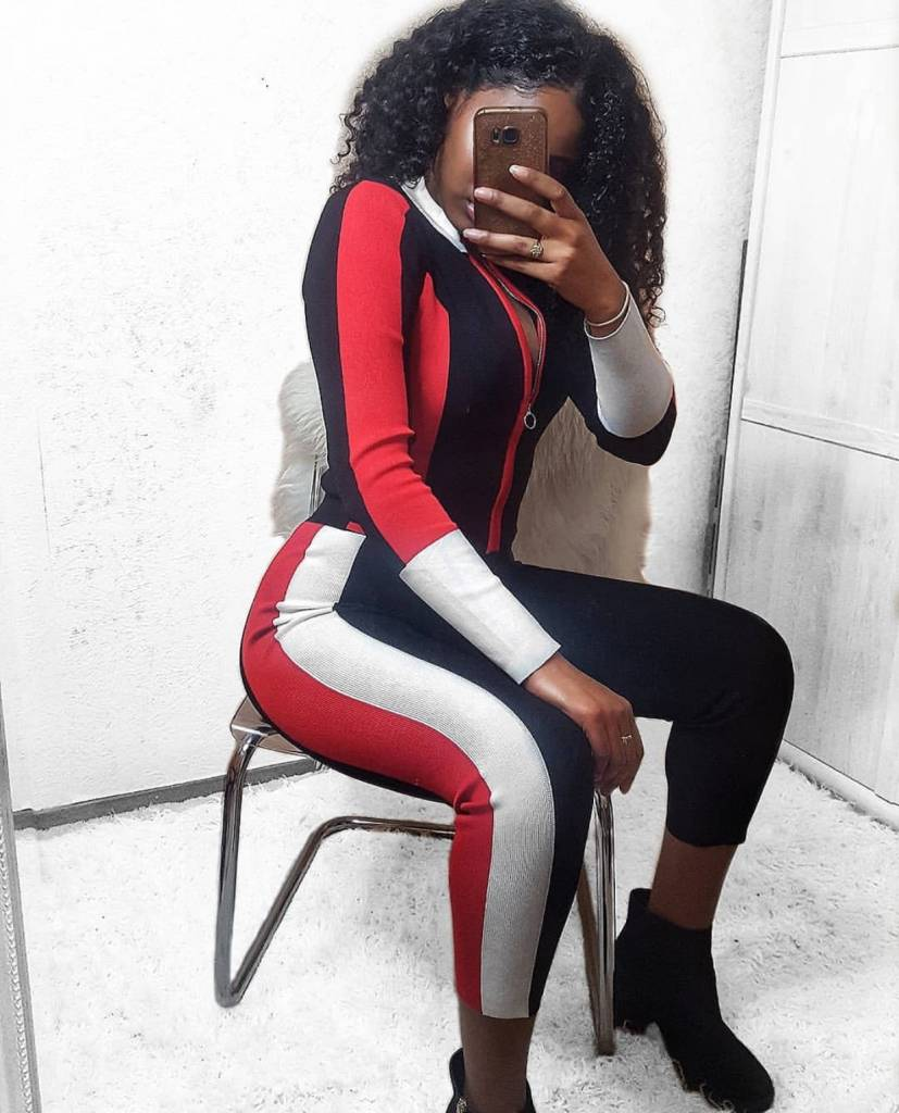 Tracksuit Red-Black