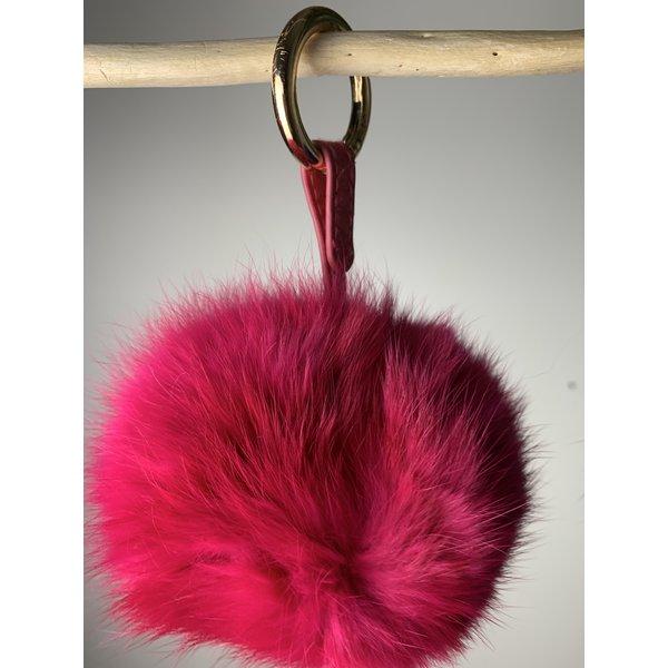PomPom keychain Pink
