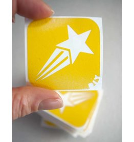 boDyIY Vallende ster (17 sjablonen)