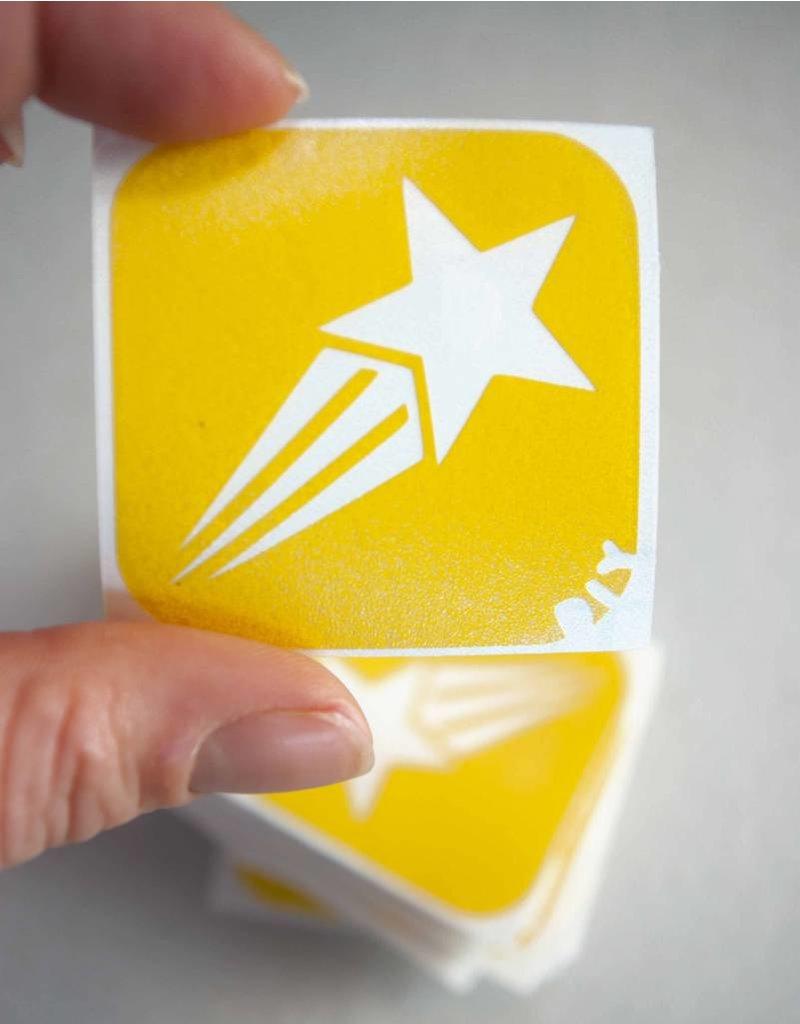 boDyIY Vallende ster glittertattoos van boDyIY (17 sjablonen)