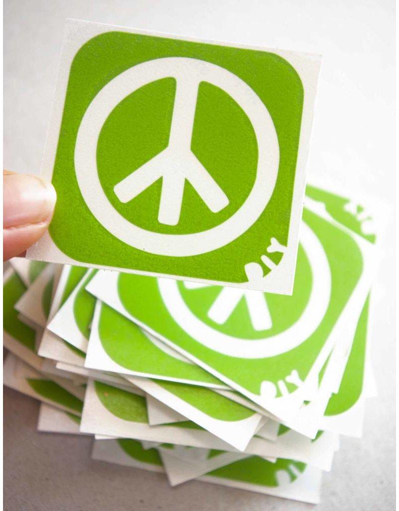 boDyIY Peace glittertattoos van boDyIY (17 sjablonen)