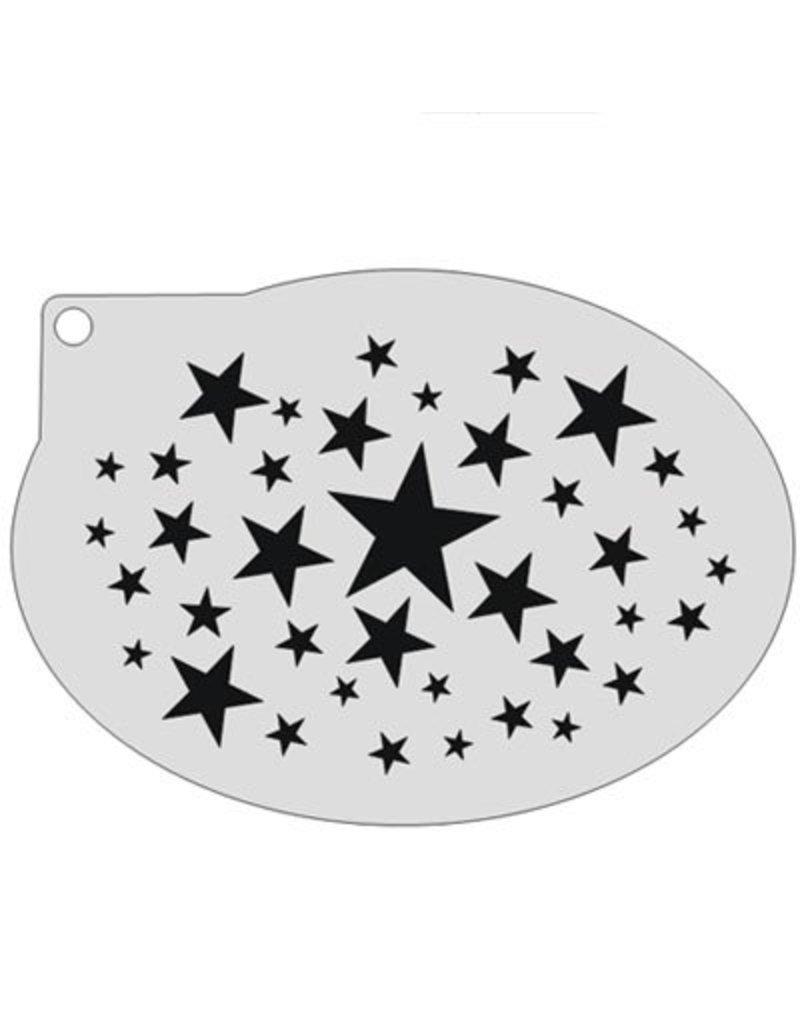 Schmink sjabloon sterren