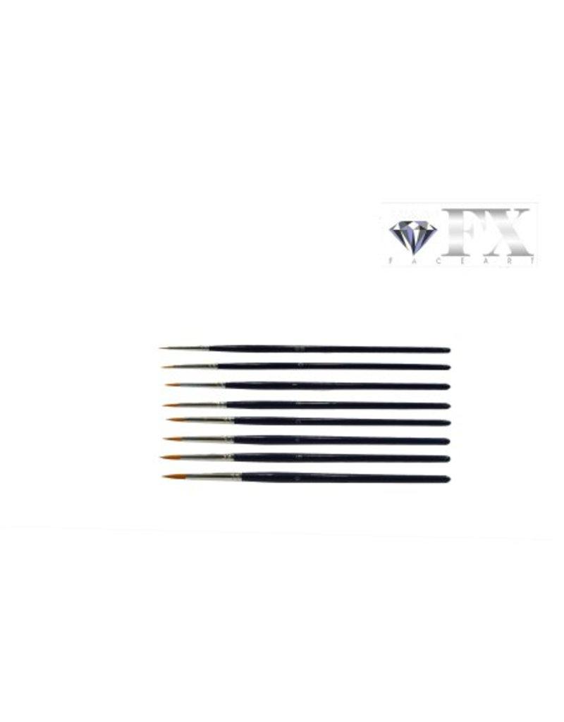 Diamond FX Penseel rond 900 #1 voor fijne details, krullen en lijntjes