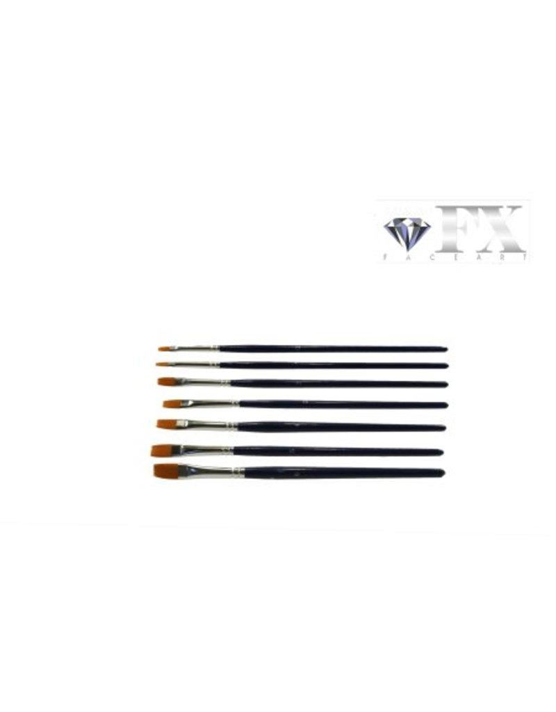 Diamond FX Penseel plat #4 901 voor het opzetten van lijnen en vlakken