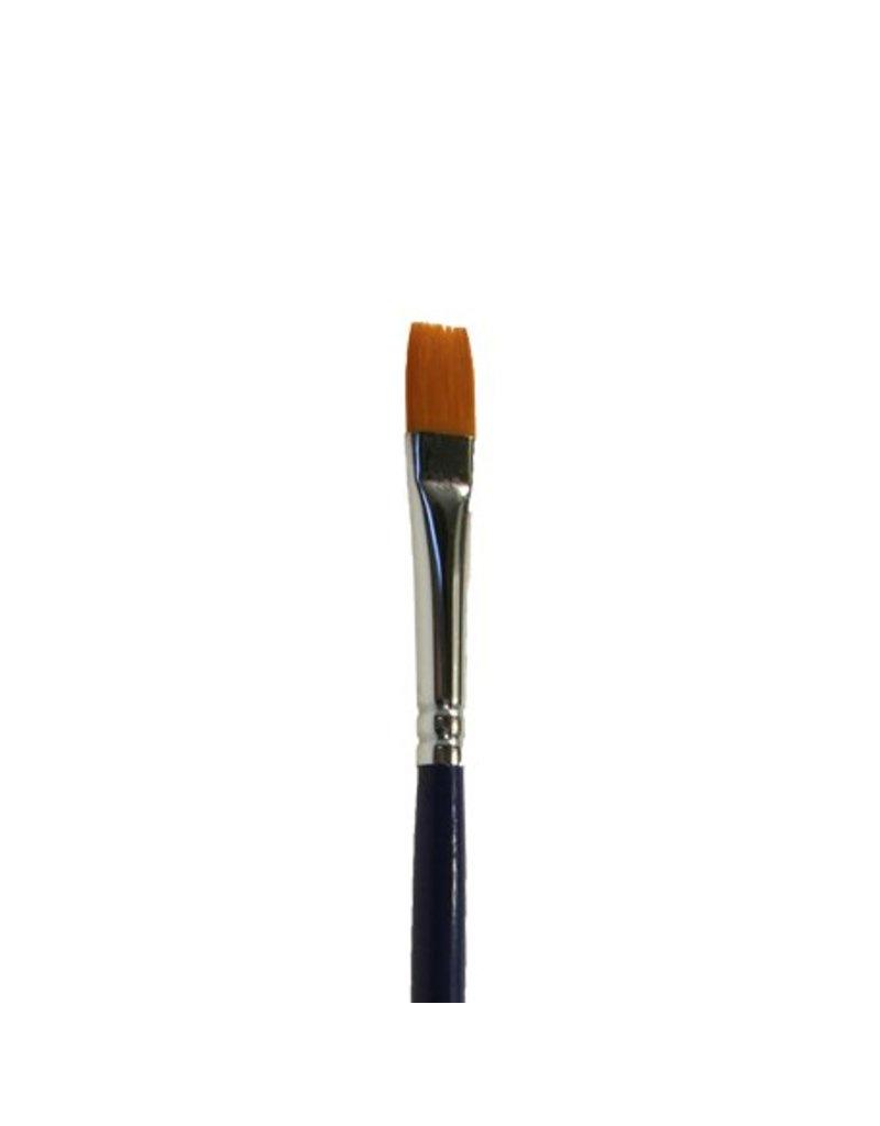 Diamond FX Penseel plat 901 #6 (DFX) voor het schminken van grote vlakken