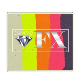 Diamond FX Splitcake vlinder schmink (Diamond FX, 50 gram)