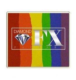 Diamond FX Splitcake regenboog schmink (Diamond FX, 50 gram)