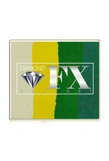Diamond FX Splitcake heksen schmink van DFX Mother Africa (50 gram)
