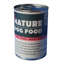 Nature Dog Food blik hert -rendier 400 gram