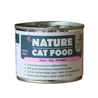 Nature Cat Food Zalm, Kip en kruiden 200 gram