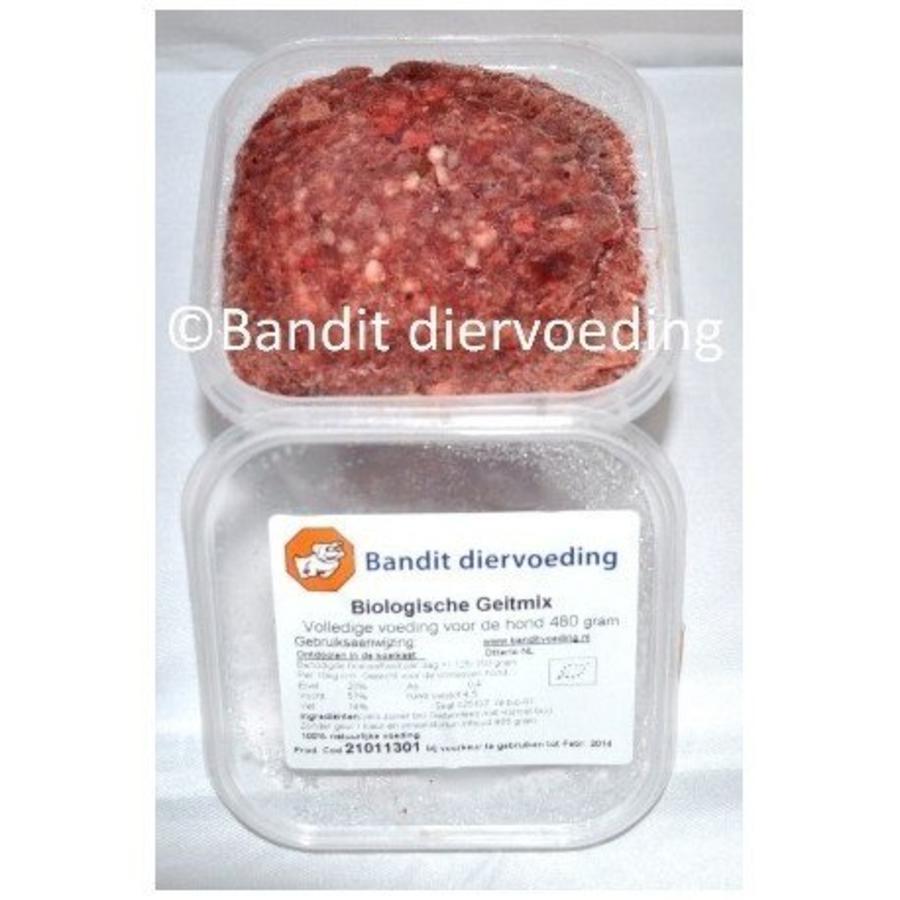 Bio Vleesmix Geit 480 gram