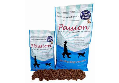 Dog Lovers Gold Passion Salmon & Sweet Potato