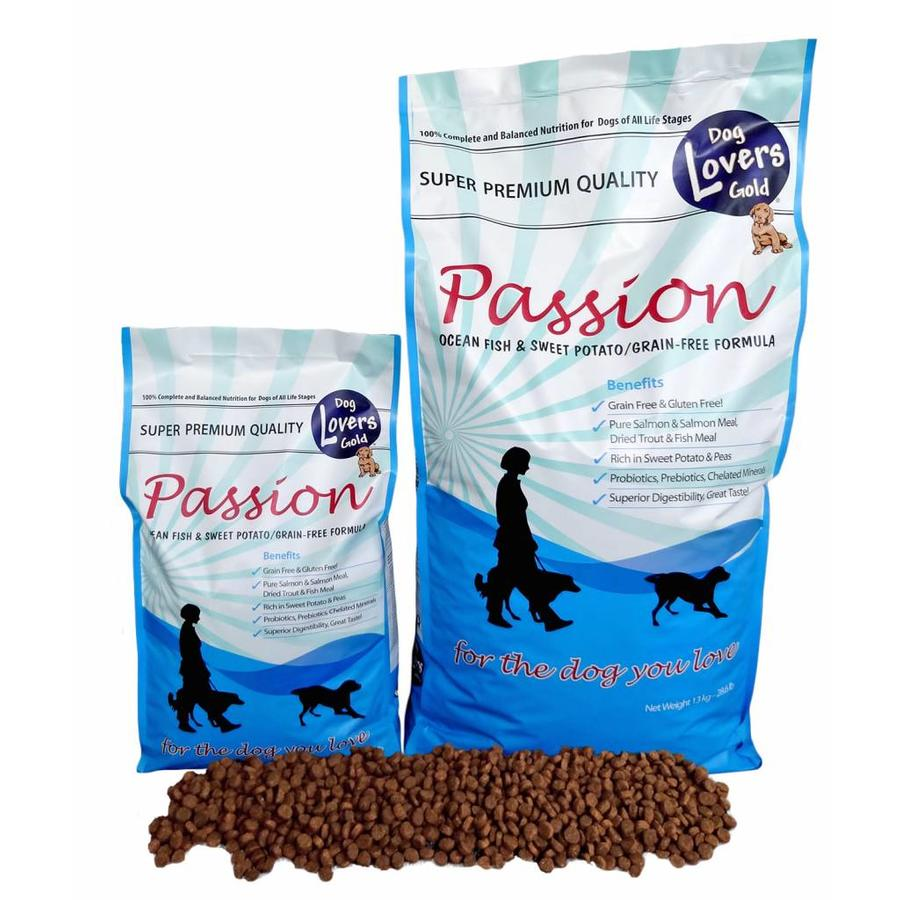 Dog Lovers Gold Passion Ocean Fish