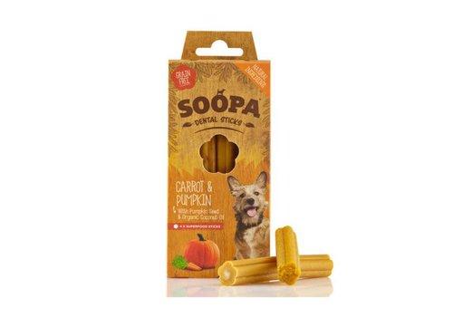 Soopa Dental stick Pompoen & Wortel 4 stuks