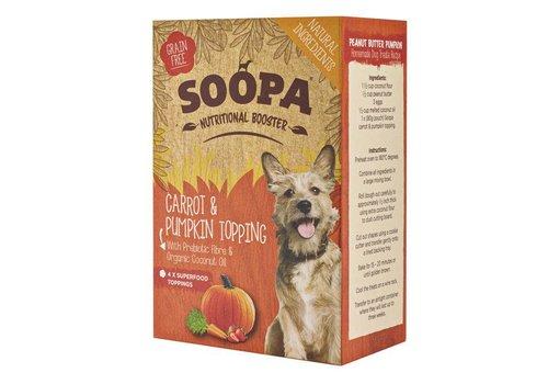 Soopa Wortel & Pompoen topping 4 x 80 gram