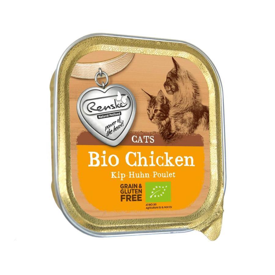 *Renske BIO kuipje kip voor de kat 85 gram