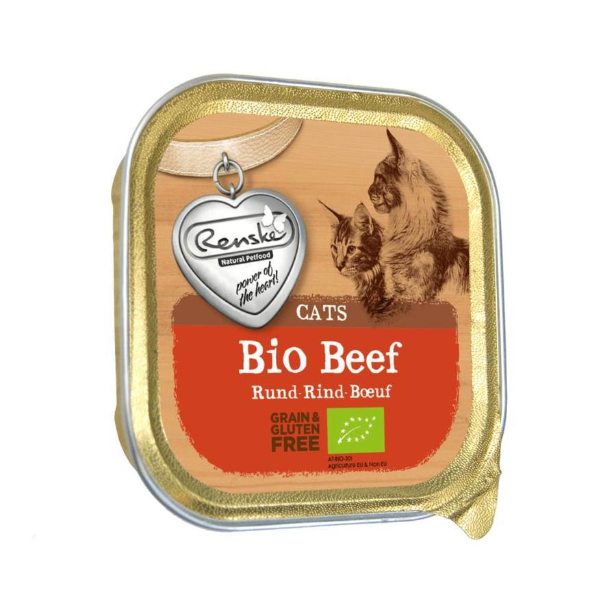 *Renske BIO kuipje rund voor de kat 85 gram