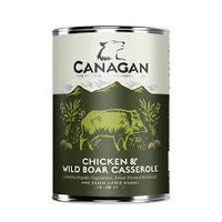 Canagan blik Kip met wildzwijnstoof (Casserole) 400 gram