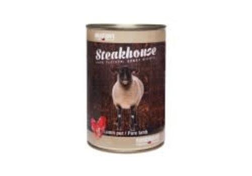 Meatlove Steakhouse blik Puur Lam 410 gram