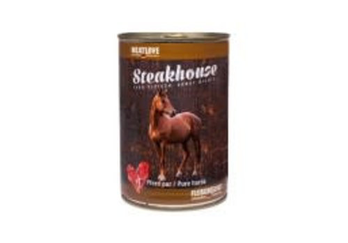 Meatlove Steakhouse blik Puur Paard 410 gram