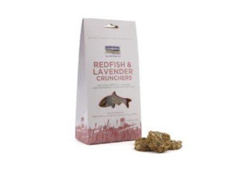 Fish4Dogs *Roodbaars & Lavendel koekjes 75 gram