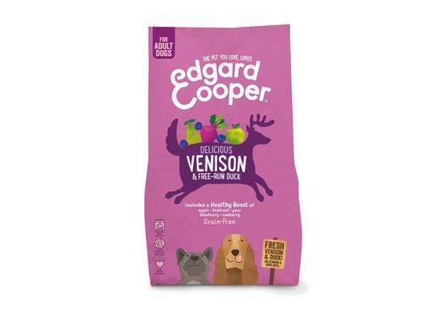 Edgard&Cooper Verse hert & scharreleend met appel, rode biet, peer & blauwe bes