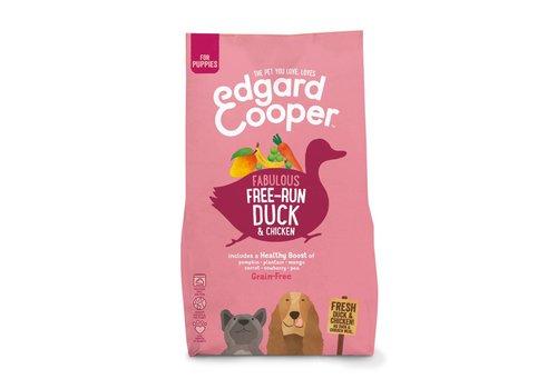 Edgard&Cooper Verse scharreleend & scharrelkip Puppy met bakbanaan, mango, wortel & erwten