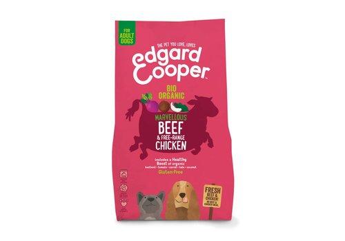 Edgard&Cooper Verse bio rund & bio kip met bio rode biet, bio kokosnoot & bio boerenkool