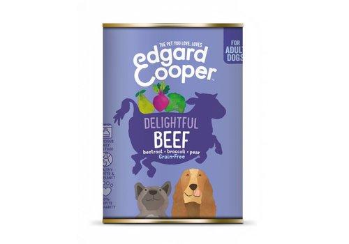 Edgard&Cooper Rund met rode biet, broccoli & peer 400 gram