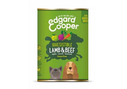 Edgard&Cooper Lam & Rund met appel, wortel en rode biet 400 gram