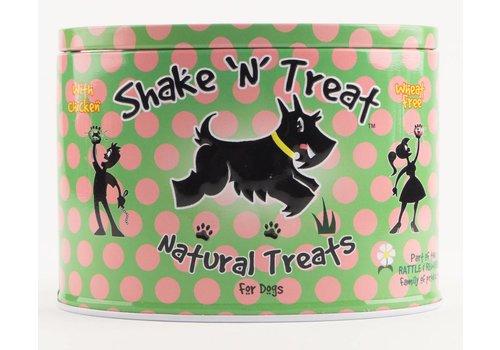 Rattle & Reward Natuurlijke hondensnoepjes tinnen blik kip/eend/kalkoen 270 gram