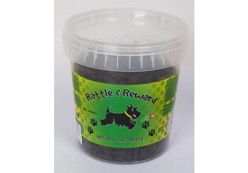 Rattle & Reward Natuurlijke hondensnoepjes Zalm 375 gram