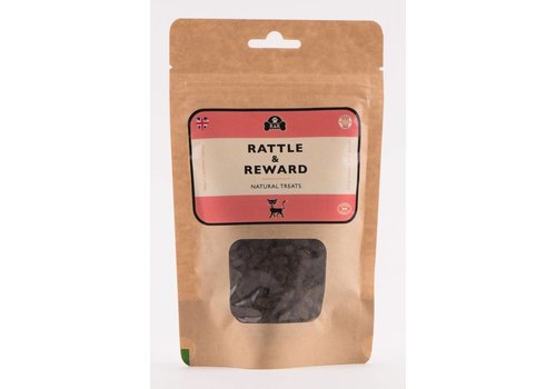 Rattle & Reward Natuurlijke kattensnoepjes navulling zalm/witvis 120 gram