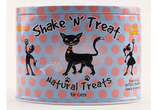 Rattle & Reward Natuurlijke kattensnoepjes tinnen blik zalm/witvis 270 gram